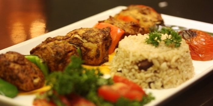 Chicken Sis Kebab at Turkuaz