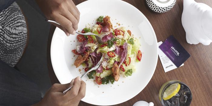 Dish 1 at RoCa Artotel