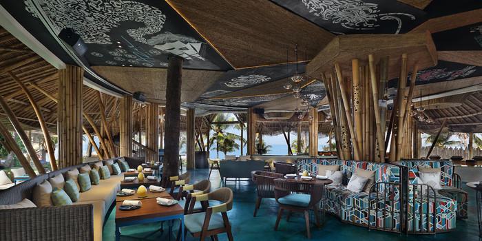Interior 1 at Azul Beach Club, Bali