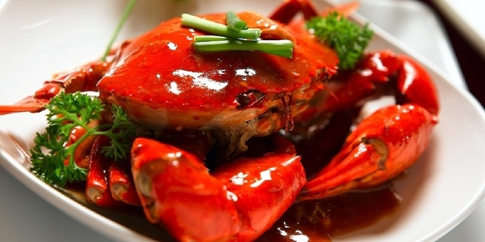 Kepiting Saos at Jun Njan Grand Indonesia