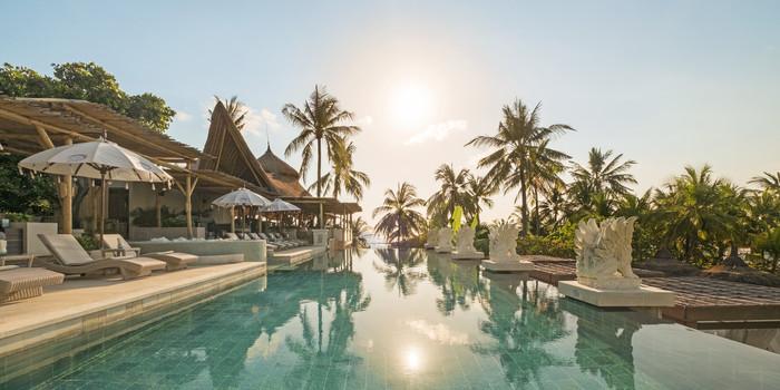 Pool at Azul Beach Club, Bali