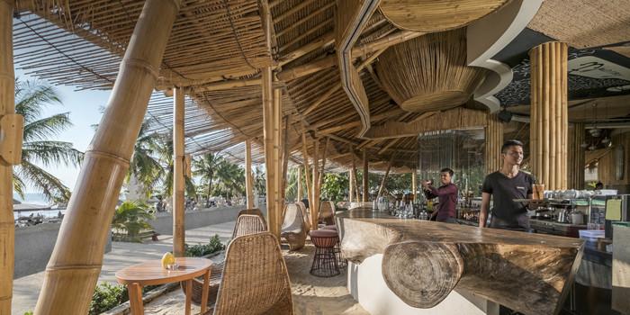 Sand Bar at Azul Beach Club, Bali