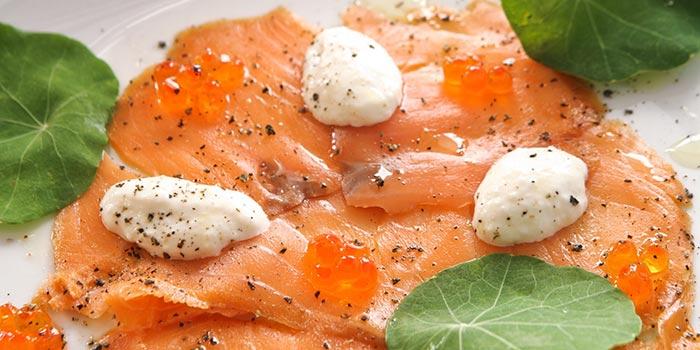 Smoked Salmon at Salumeria Bali