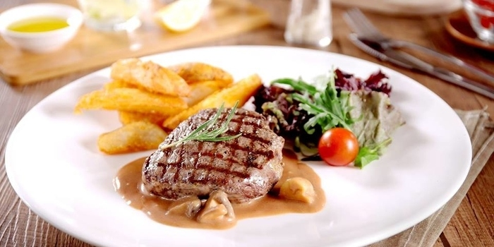 Steak at Willie Brothers Steakhouse, Jakarta