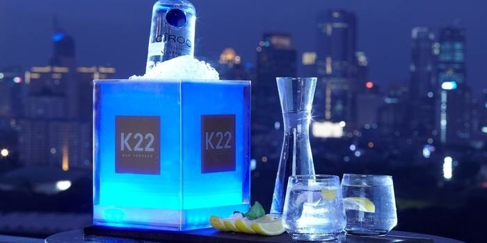 Alcohol Drink at K22 (Fairmont Hotel)