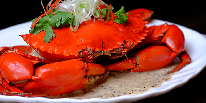 Creamy White Pepper Crab (FOC) from Ah Hoi