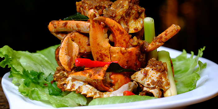 Kam Heong Crab (FOC) from Ah Hoi