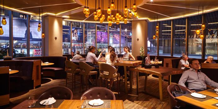 Atmosphere from Riedel Wine Bar & Cellar at Gaysorn Village, Bangkok