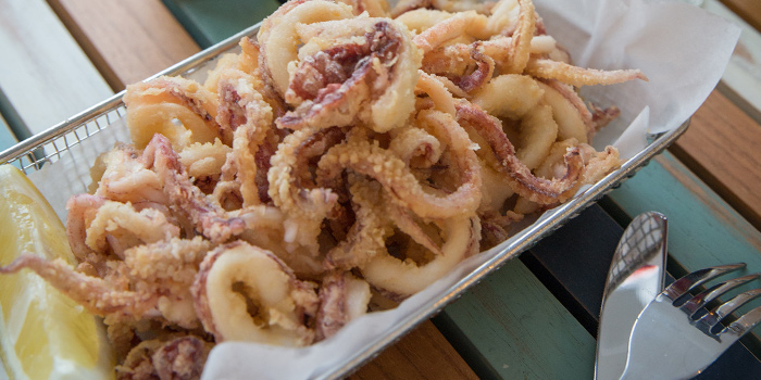 Calamari from Bakalaki Greek Taverna on Seng Poh Road in Tiong Bahru, Singapore