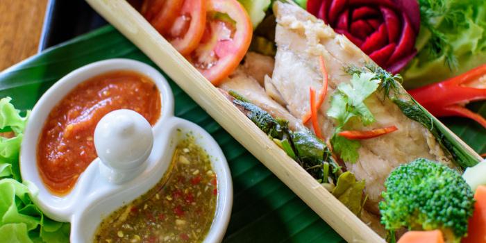 Bamboo Fish from Blue Elephant Phuket, Talad Neua, Muang, Phuket, Thailand