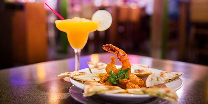 Prawn Diablo from Cafe Iguana in Clarke Quay, Singapore