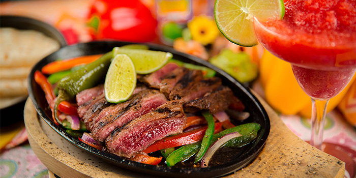 Steak Fajitas from Cafe Iguana in Clarke Quay, Singapore