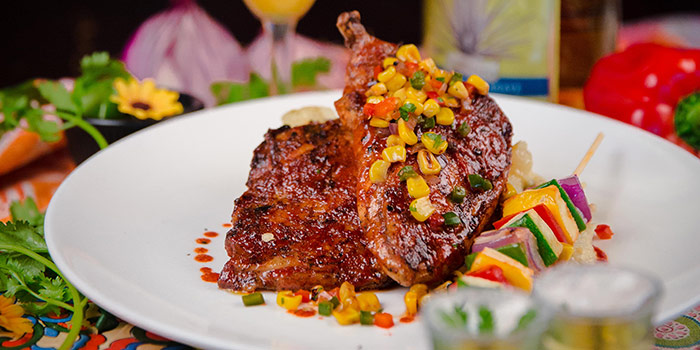 Tequila Chicken from Cafe Iguana in Clarke Quay, Singapore