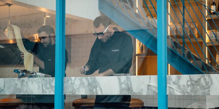 Chefs from La Dotta Pasta Bar & Store