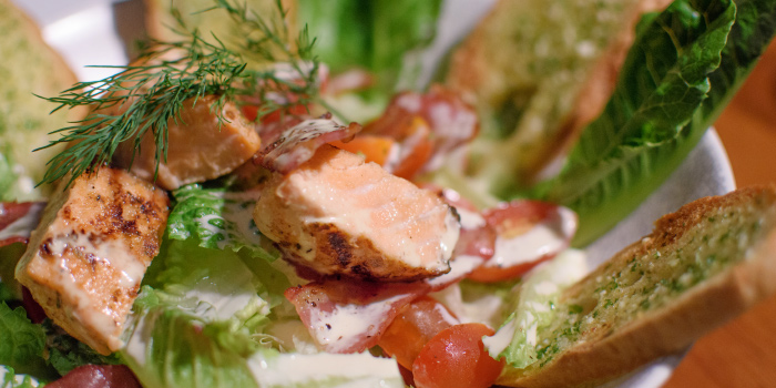 Crispy Caesar Salad from The 9th Glass Wine & Bistro in Cherngtalay, Phuket, Thailand.