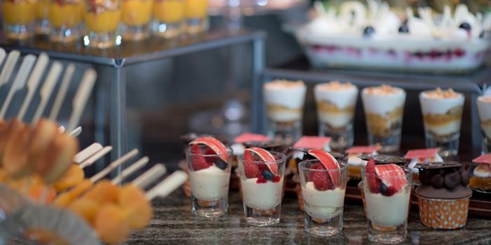 Desserts from Brasserie Europa at Siam Kempinski Hotel, Bangkok