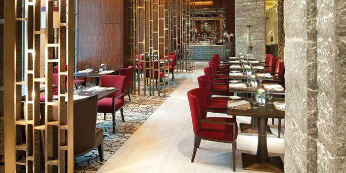 Dining Area from Brasserie Europa at Siam Kempinski Hotel, Bangkok