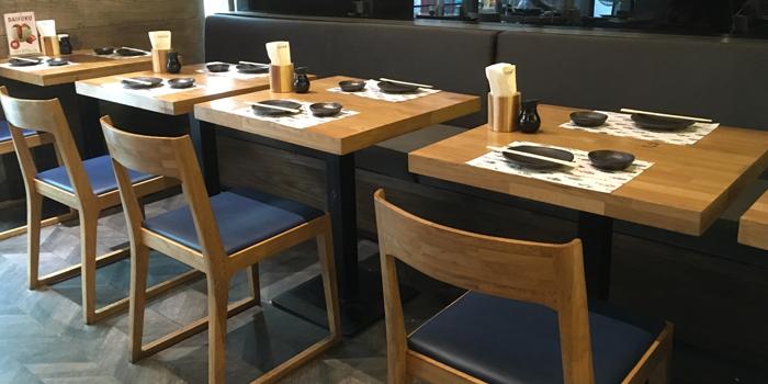 Dining Area from MAGURO Sushi - Chaeng Wattana in Chang Wattana Road, Bangkok