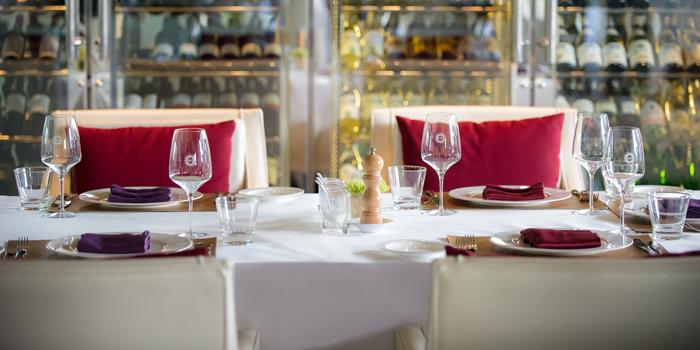 Dining Table from LUCE Italian Restaurant at Eastin Grand Hotel Sathorn Bangkok, Bangkok