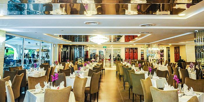 Interior of Royal Palm @ Orchid Country Club in Sembawang, Singapore