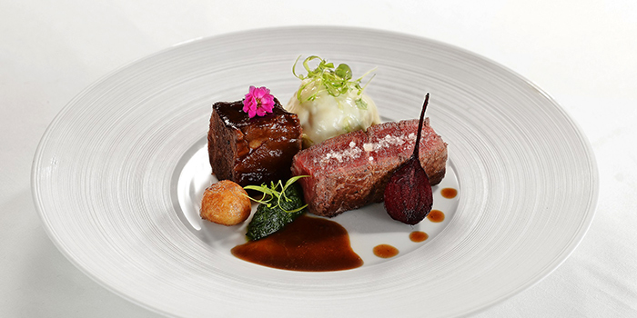 Grilled Beef Tenderloin and Rib, COVA Ristorante & Caffe, Admiralty, Hong Kong