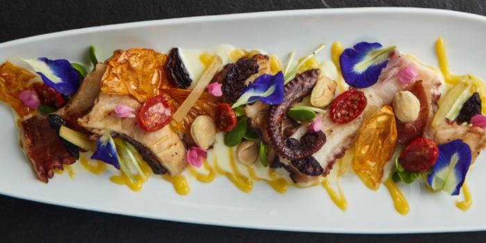 Grilled Octopus from Riedel Wine Bar & Cellar at Gaysorn Village, Bangkok