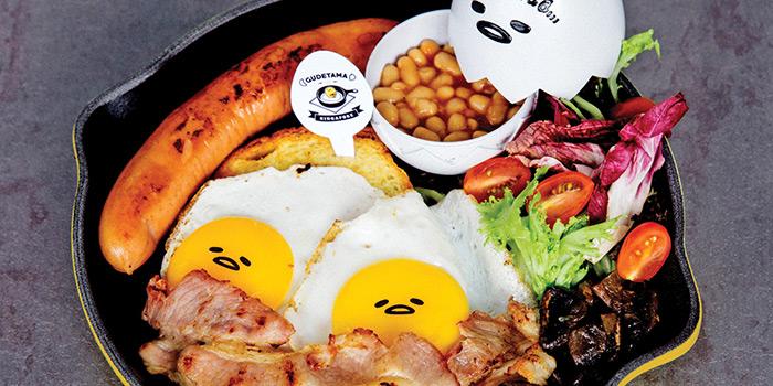 Big Nua Breakfast from Gudetama Cafe Singapore at Suntec City in Promenade, Singapore