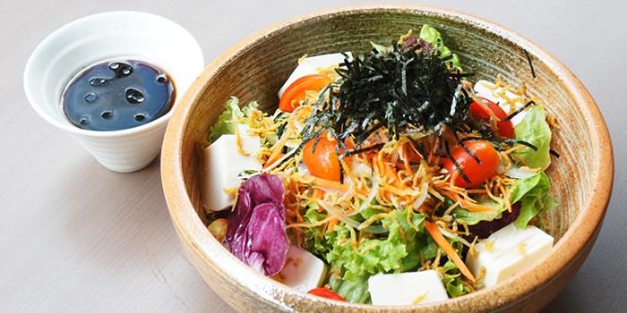 Tofu Salad from Hibiki Yakitori Lounge in Bukit Timah, Singapore