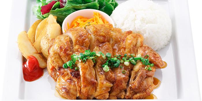 Teriyaki Chicken Steak from Hoshino Coffee (Plaza Singapura) in Dhoby Ghaut, Singapore
