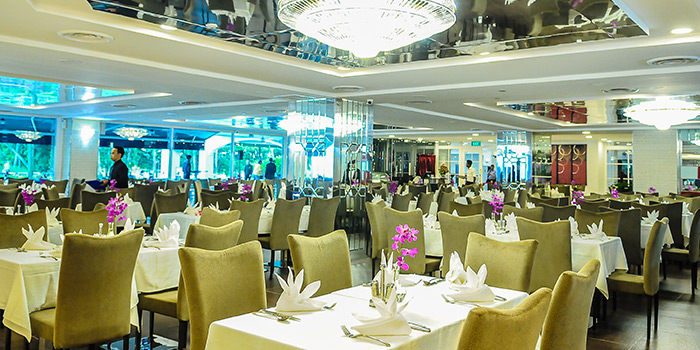 Dining Area of Royal Palm @ Orchid Country Club in Sembawang, Singapore