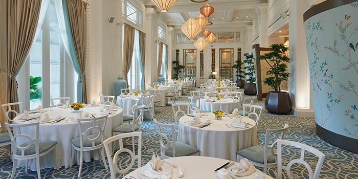 Main Dining Hall of Jade at Fullerton Hotel in Fullerton, Singapore