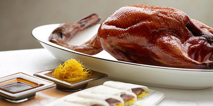 Roasted Peking Duck from Jade at Fullerton Hotel in Fullerton, Singapore