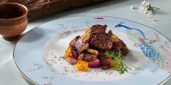 Sauteed Beef Tenderloin from Jade at Fullerton Hotel in Fullerton, Singapore