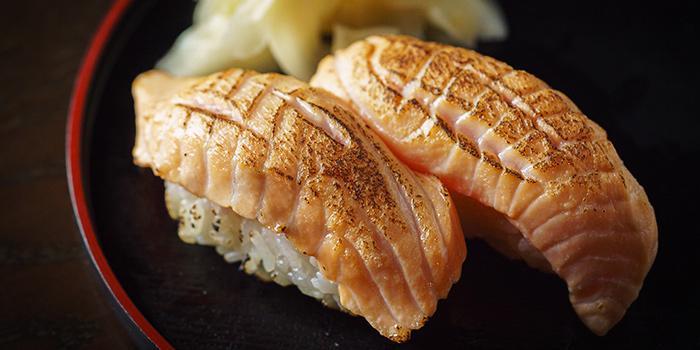 Aburi Salmon Sushi from Kushi Dining Bar in Paya Lebar, Singapore