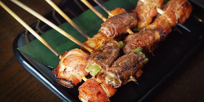 Bacon Yakitori from Kushi Dining Bar in Paya Lebar, Singapore