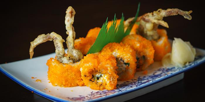 Salmon Roe & Lobster Sushi from Kushi Dining Bar in Paya Lebar, Singapore