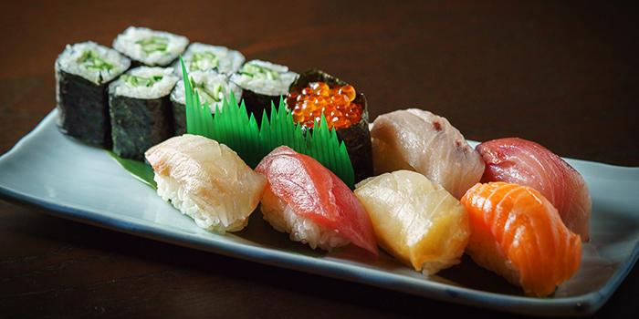 Sushi Platter from Kushi Dining Bar in Paya Lebar, Singapore