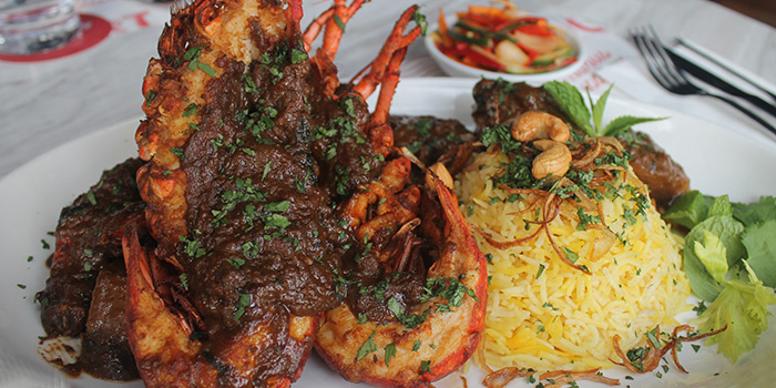 Lobster Briyani (8 May - 9 Jul) from Pince & Pints Restaurant and Bar in Duxton, Singapore