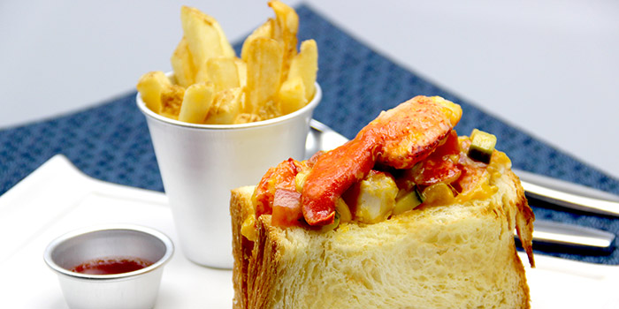 Lobster Roll, UPP Golf Kitchen and Bar, Sheung Wan, Hong Kong