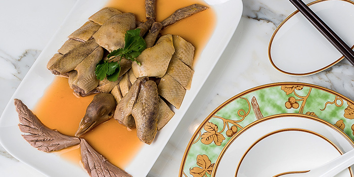 Marinated Pigeon with Huadiao Wine, The Chin