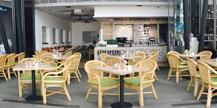 Exterior of Miska Cafe (Sentosa) in Sentosa, Singapore