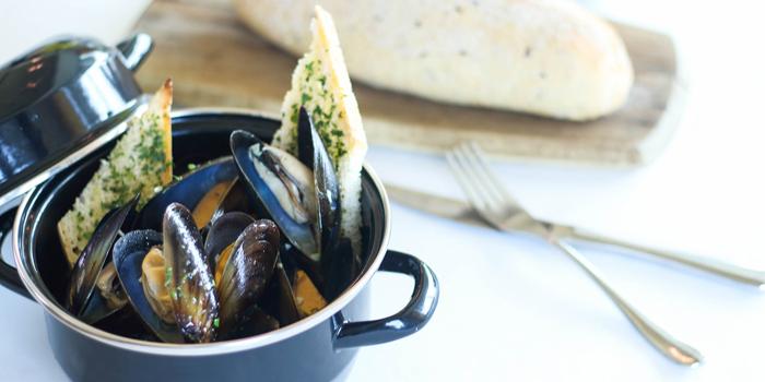 Mussel Pot Alla Marinara from LUCE Italian Restaurant at Eastin Grand Hotel Sathorn Bangkok, Bangkok