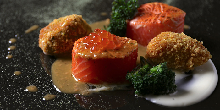 Ocean Trout from NUDE Seafood in Marina Bay Financial Centre in Raffles Place, Singapore