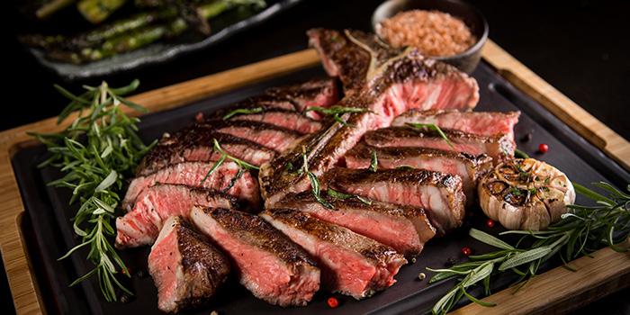 Opus Porterhouse Steak from Opus Bar & Grill in Hilton Hotel along Orchard Road, Singapore
