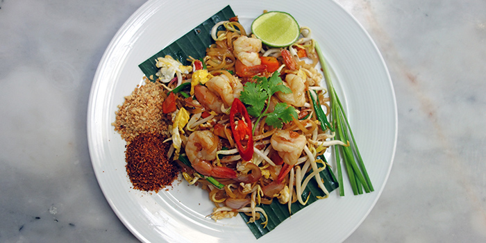 Pad Thai from Folks Collective - The Oriental Outpost (Capital Square) in Raffles Place, Singapore