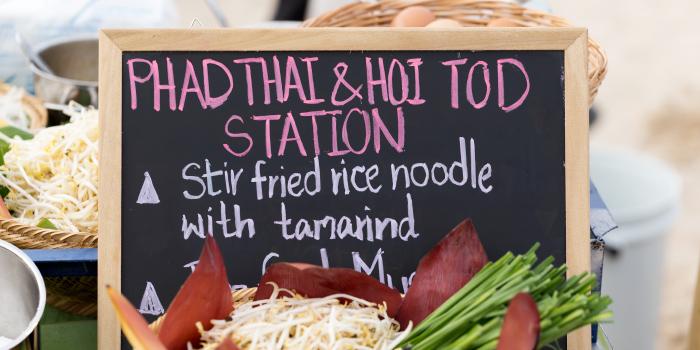 Phad-Thai-Street-Food from Phuket Marriott Resort and Spa, Nai Yang Beach, Phuket, Thailand.