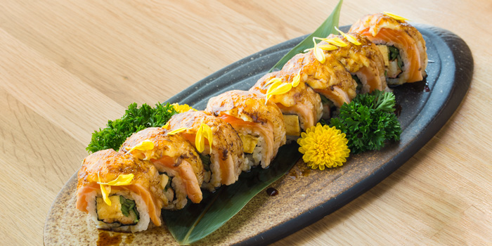 Salmon Engawa Roll from MAGURO Sushi - Chic Republic Ratchapruek in Ratchapruek Road, Bangkok