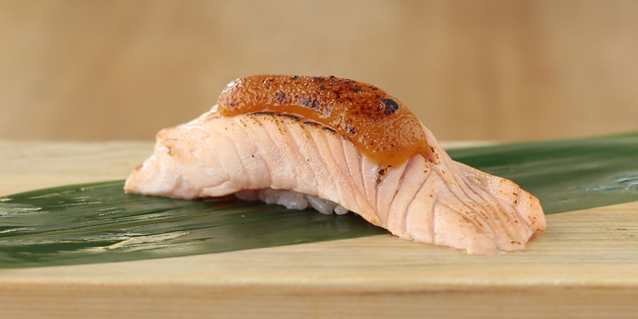 Salmon Saikyo from MAGURO Sushi - Chaeng Wattana in Chang Wattana Road, Bangkok