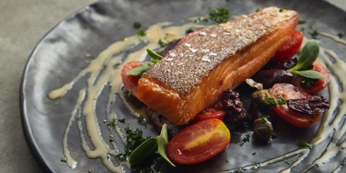Salmon Trout from Riedel Wine Bar & Cellar at Gaysorn Village, Bangkok