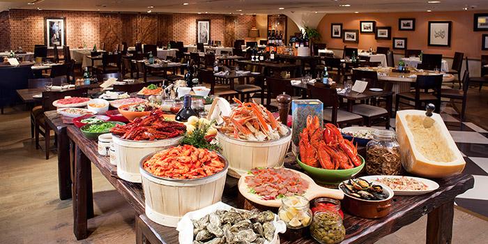 Appetizer Buffet, Osteria Ristorante Italiano, Tsim Sha Tsui, Hong Kong